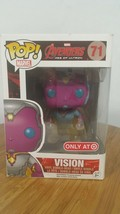 Funko Pop! Marvel Avengers Age of Ultron #71 Vision TARGET EXCLUSIVE RARE - $17.35