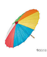 "Paper Beach Ball Print Parasol. - 22"" - $12.49"