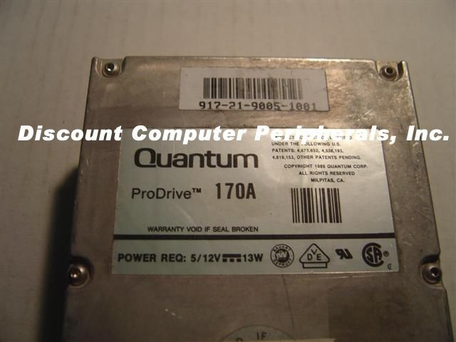 Quantum PRO 170AT 170MB IDE 3.5in Drive 2 In stock Tested Good Free USA Shipping