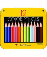 Tombow Pencil mini colored pencils NQ 12 colors sharpener with BCA-151 - $14.20