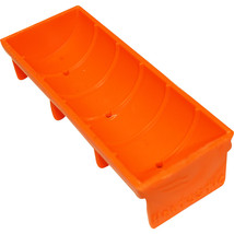 Unipet Orange Hentastic Trough Feeder  859292006319 - $18.69