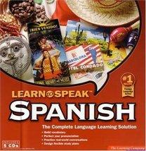 Learn to Speak Spanish 8 - $4.99