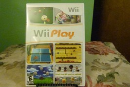 Wii Play (Nintendo Wii, 2007) Good Condition W/Manual - $6.92