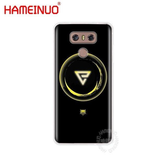 HAMEINUO The Witcher 3 Wild Hunt signs case phone cover for LG G6 G5 K10 M250N M
