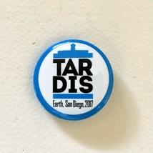 Tardis Dr Who 2017 San Diego Comic Con Promo Pin - $9.00