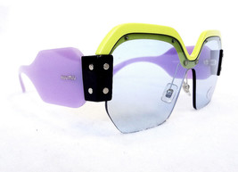 MIU MIU Women's Sunglasses MU09SS VIV4Q2 Green/Purple 135 MADE IN ITALY ... - $199.95