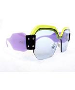 MIU MIU Women's Sunglasses MU09SS VIV4Q2 Green/Purple 135 MADE IN ITALY ... - $199.95