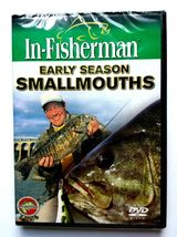 In-Fisherman Early Season Smallmouths DVD Video Temp Wind Position Tackle - $8.95