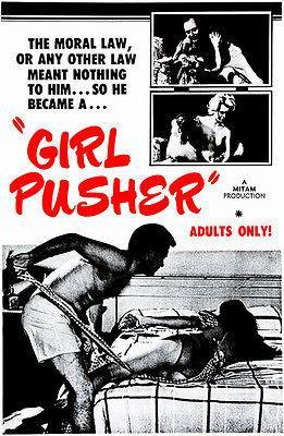 Primary image for Girl Pusher - 1968 - Movie Poster
