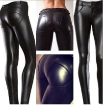 CoolMax-Faux Leather Pants - $22.99