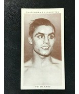 1938 WA&AC Churchman Boxing #21 Peter Kane  - $3.91