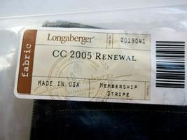 NEW Longaberger Liner CC 2005 Renewal - NIP - Free Shipping - $5.76