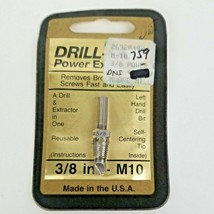 Drill-Out Power Extractor 3/8 in. - M10/ Screw Extractor - $12.50