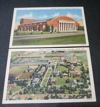 Lincoln, Nebraska Postcards Linen Curt Teich Vintage -group of 2 - $10.88