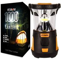 Internova 1000 LED Camping Lantern Fully Adjustable 360 Arc Lighting Valentines image 1