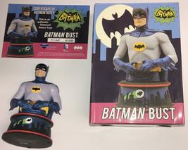 Adam West SIGNED Diamond Select 1966 '66 TV Series Batman LE Bust #748/3... - $395.99