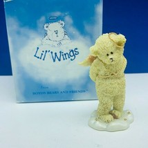Boyds Bears Lil Wings figurine Christmas angel nib box sculpture decor B... - $13.50