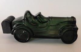 Avon Straight Eight Roadster After Shave Windjammer Green Glass Bottle C... - $17.82