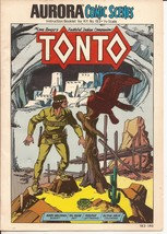 Aurora Comic Scenes Tonto Instruction Booklet for Kit #183 Lone Ranger Sidekick - $24.95