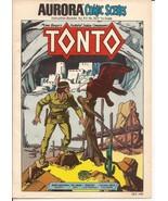 Aurora Comic Scenes Tonto Instruction Booklet for Kit #183 Lone Ranger S... - $24.95