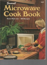 Microwave Cook Book - Sunset - Basic How-To's - SC - 1978 - Lane Publish... - $1.75