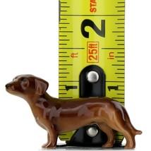 Hagen Renaker Dog Dachshund Miniature Ceramic Figurine image 2