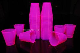 Pink  Blacklight Reactive 2oz Shot Glasses 50ct - $8.95