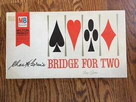 1964 Milton Bradley #5610 Bridge For The Fine Edition - - $9.49
