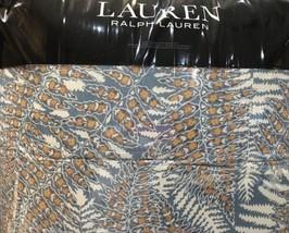 RALPH LAUREN HADLEY FERN 3pc KING COMFORTER SET BLUE MUL Bnip $380 BEAUT... - $188.09