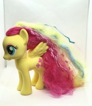 My Little Pony Fluttershy Fashion Pony Yellow Multicolor Hair 2013 With ... - $11.30