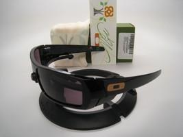 Rare!! New Oakley Limited Bob Burnquist Gascan Polished Black w/Warm Grey 24-146 - $489.95