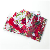 Christmast Tablecloth Flag Table Runner Party Decorative Santa Claus Tap... - $12.00