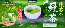 Kirkland Ito En Japanese Matcha Sencha Blend 100% Organic Green Tea Bags - $8.95+