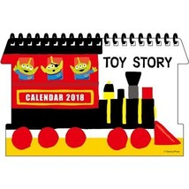 Delfino 2018 Die cut desk calendar Disney toy story JAPAN NEW F/S - $26.34