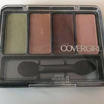 Covergirl Eye Enhancers Powder Shadow Quad Palette 272 Goldmine 0.19 oz ... - $4.94