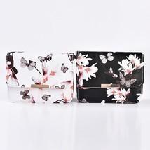 Women Floral Shoulder Bag Small Messenger Bag Retro Butterfly Clutch Tot... - €22,08 EUR