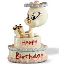Lenox Tweety Bird Birthday Cake Looney Tunes Figurine #846707 New In Box - £56.69 GBP