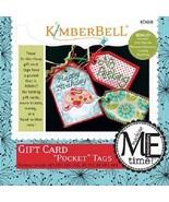 Kimberbell KD608 Gift Card Pocket Tags (ME CD) - $10.36