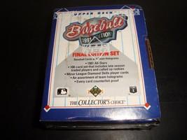 1991 Upper Deck Final Edition Baseball Card Set #701-800 Pedro Martinez Thome RC - $4.99