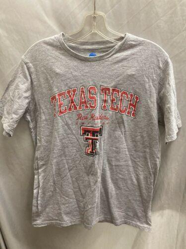 NCAA Texas Tech Short Sleeve T-shirt Medium Gray - $14.96
