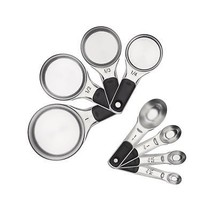 OXO Good Grips Measuring Cups and Spoons Set Stainless Steel - $55.98