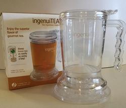 Adagio Teas ingenuiTea 16 ounce Clear Bottom Dispensing Teapot - $9.99