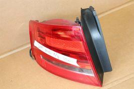 09-12 Audi A4 S4 RS4 4door Sedan Taillight Tail Light Lamp Driver Left LH image 4