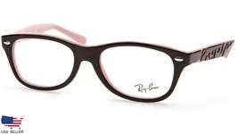 Ray Ban Kid's RB1544 3580 BLACK On PINK PEARL EYEGLASSES FRAME 46-16-125... - $32.18
