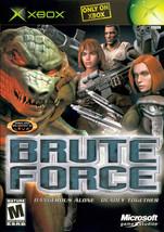 Brute Force Xbox OG  Complete CIB - $7.75