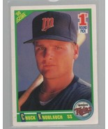 Chuck Knoblauch - SS - '90 Score #672  1st Round Pick Minnesota Twins Ca... - $0.97