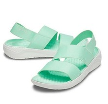 Crocs Literide Stretch Sandal Women's Size 6, 7, 9, 11 Neo Mint 206081-3TP - $29.95