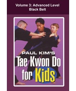 Tae Kwon Do for Kids #3 Advanced Black Belt forms techniques DVD Paul Kim - $22.00