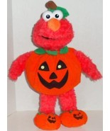 "BUILD A BEAR ELMO IN PUMPKIN HALLOWEEN OUTFIT 18"" PLUSH DOLL TOY BABW - $21.99"