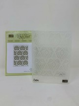 Stampin Up Beautifully Baroque Embossing Folder Textured Impressions 130917  - $12.86